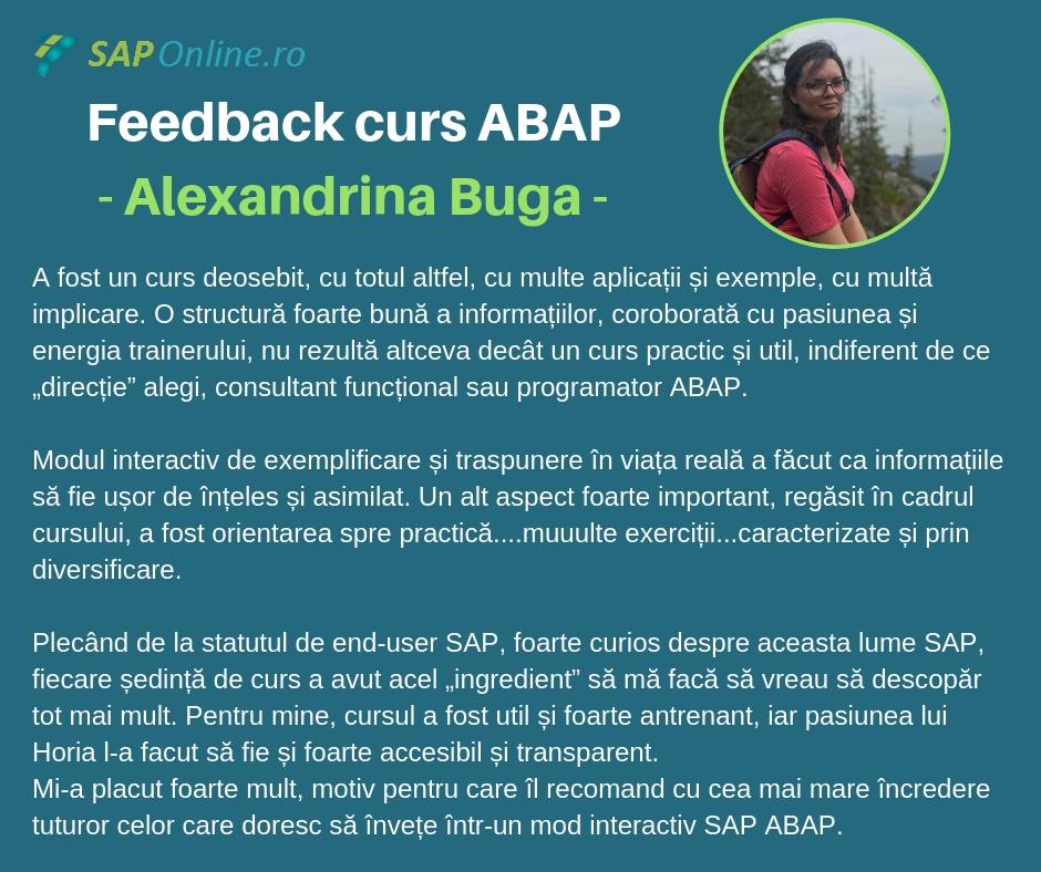 feedback_alexandrina
